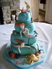 Mermaids (Taylor made Cakes) Tags: fish coral octopus mermaid