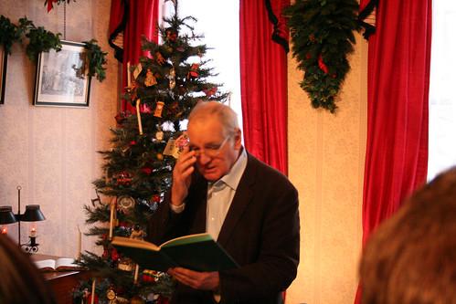 Reading A Christmas Carol