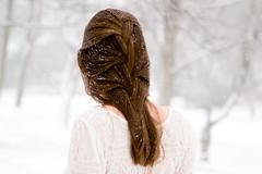 (juleyah) Tags: winter woman selfportrait snow blizzard 2010 ryeny canont2i