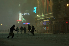 nyc snow storm 2010 times square (photognyc) Tags: nycsnowstorm nycblizzard newyorkblizzard snowstormnewyork december26th2010