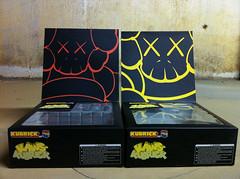 (theres no way home) Tags: usa set toy box kubrick busstop kaws set1 set2 medicom theresnowayhome kawskubrick1 kawskubrick2