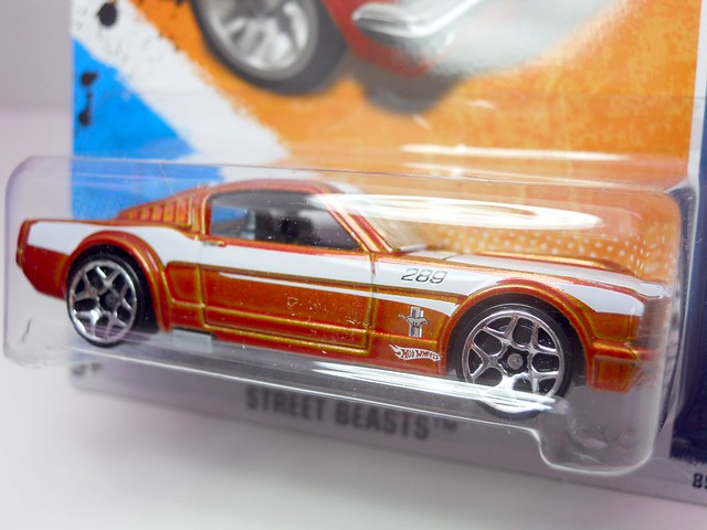 hot wheels ford mustang fastback copper (3)