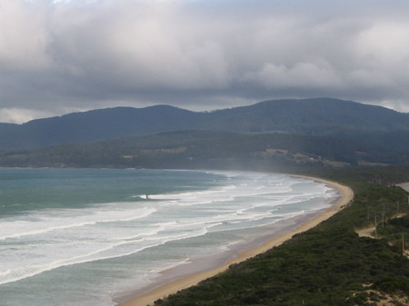 Bay near Bruny Island