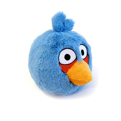 Blue - Angry Bird Plush Toy 愤怒的小鸟毛绒玩偶