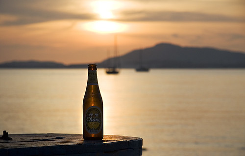 Beer Chang Sunset
