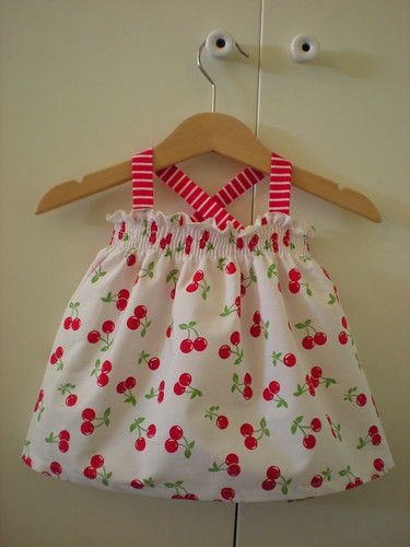 summer cherry dress