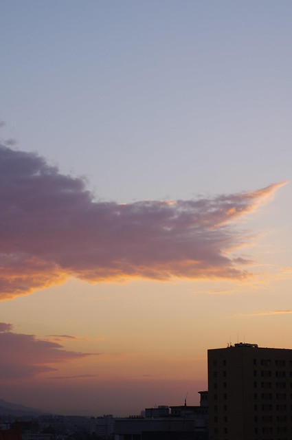 這一兩天的晚霞都不錯美