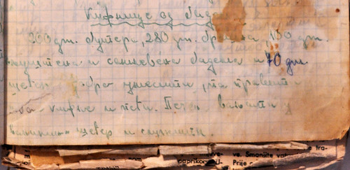 vanillekipferl rukopis