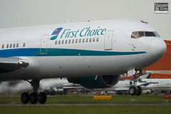 G-DBLA - 26063 - First Choice Airways - Boeing 767-35EER - Luton - 100513 - Steven Gray - IMG_0986