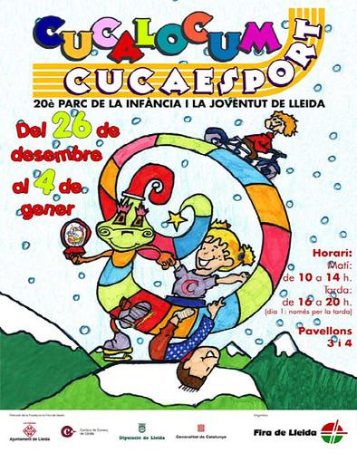 Navidad 2010 en Lleida con niños: Cucalocum y Cucaesport