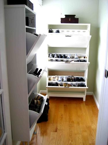 shoe closet ikea stall