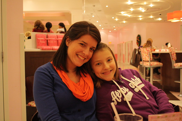 mary + me, american girl doll store
