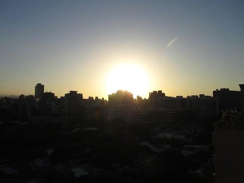 2011跨年煙火-2010最後一道夕陽光輝.JPG