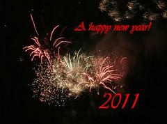 A happy near year! (fleckchen) Tags: nacht silvester neujahr bunt grus feuerwerk abends rakete raketen neujahrswnsche silvesterfeuerwerk neujahrsgrse