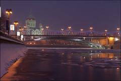 Moscow. View of the Great Stone Bridge. (Yuri Degtyarev) Tags: bridge stone big sam moscow sony great 100 alpha 18 50 sal dt a100  50f18   alpha100  sa50f18