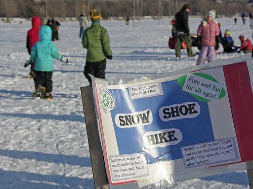 Winter Kite Festival 2009 snowshoe