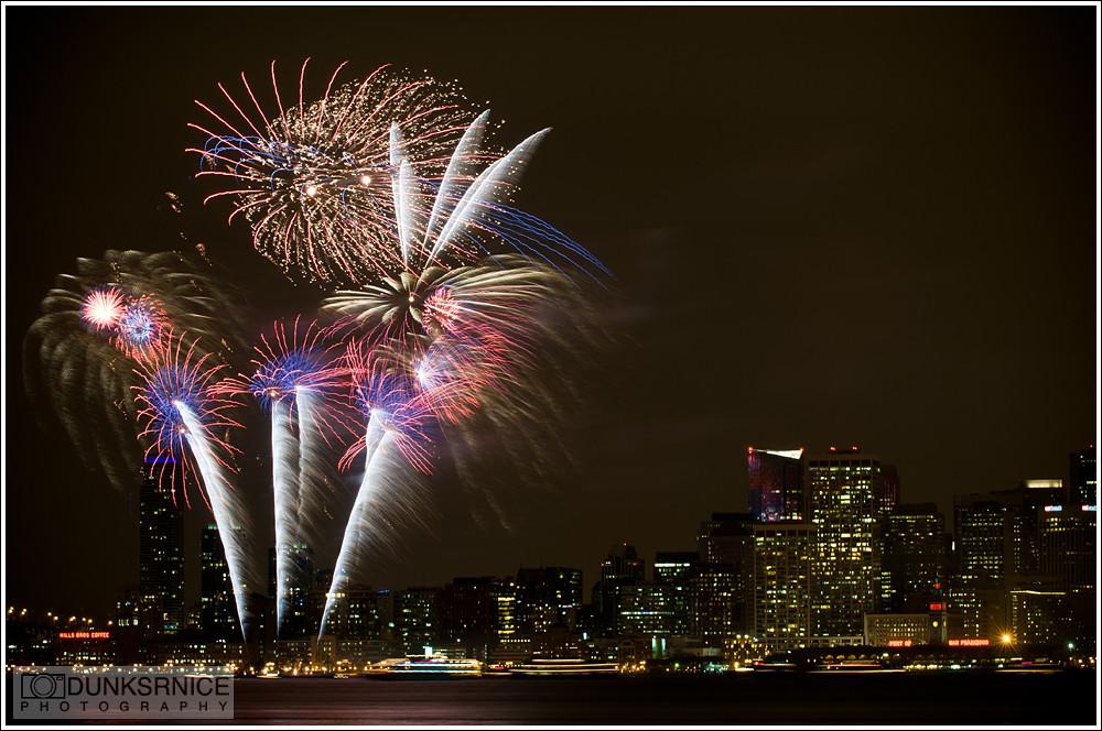 2010 San Francisco Treasure Island Fireworks