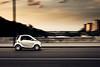 Sunset Boulevard (Marc Benslahdine) Tags: paris smart car voiture explore route panning frontpage lightroom filé traitement tamronspaf1750mmf28xrdiii canoneos50d marcopix tripax ©marcbenslahdine wwwmarcopixcom wwwfacebookcommarcopix gettyimagesfranceq1 marcopixcom