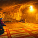 Praying under the Sakhrah / Foundation Stone
