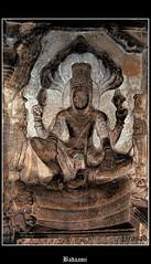 Badaami11 (Spiceroute) Tags: red india lake sandstone ad buddhism karnataka hinduism 757 540 jainism bagalkot agastya i chalukyas vatapi badaami regalcapitalbadamichalukyas 550757ad rockcutstructuraltemples vatapiandilvala mangalesha badamicavetemples