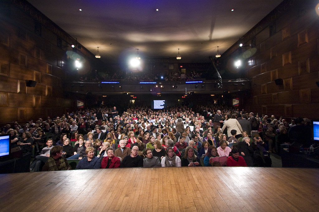 92nd Street Y - stage view