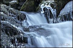 Frozen Time (Guylaine Begin) Tags: winter snow canada ice nature water landscape eau exterior hiver 206 calm falls waterfalls qubec 200 brook neige paysage cascade extrieur chute calme gettyimages glace 307 4000 chutedeau gaspsie baiedeschaleurs ruisseau 4350 chaleurbay cheminkempt kemptroad chutesnormand ristigouchesudest ruisseaukempt chuteskempt
