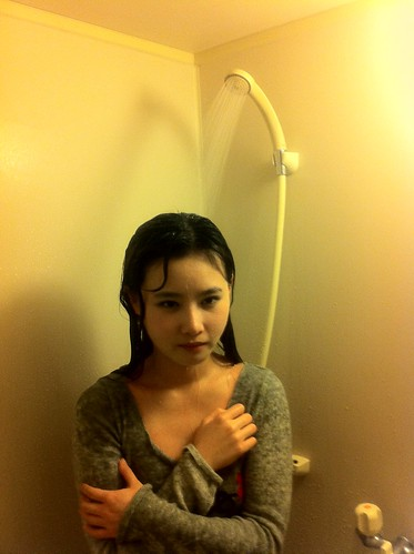 Tao Sha suffers in shower