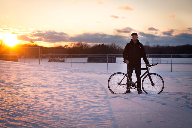 Me: My Trek T1: Winter Sunset