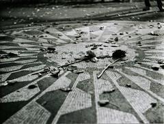Scan 12 (nguygie) Tags: park new york bw white black 120 john lomography central imagine beatles lennon