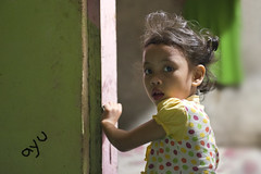 Makassar, South Sulawesi - 6 year old Ayu. A new member of my shelter home in Bali (Mio Cade) Tags: bali girl indonesia kid child south daughter help aid sick ayu sulawesi abuse sponsor makassar