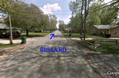 Bulla Rd (via Google Earth)
