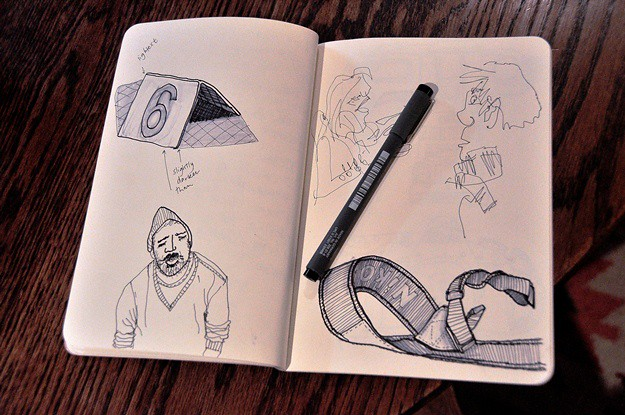 sketching in honies