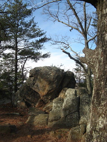 Boulders on Rocktop Trail