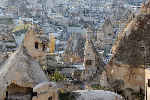 Goreme City in Cappadocia, Turkey