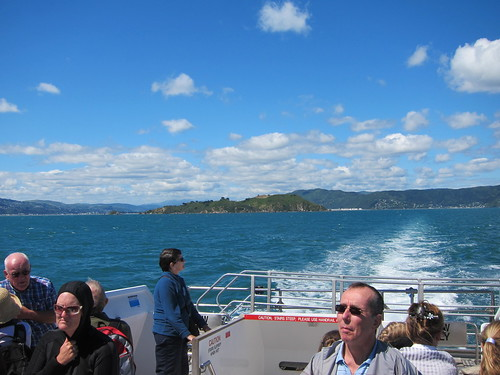 Ferry on Wellington Harbour