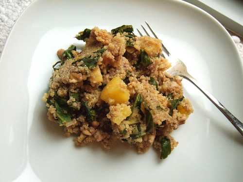 Pineapple Coconut Quinoa from Spunky Coconut