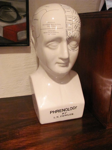fowler phrenology head