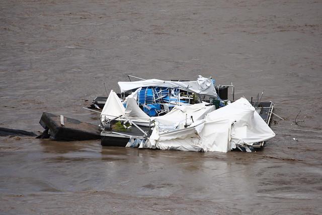 Drift Restaurant Brisbane inundación