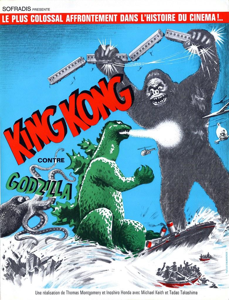 King Kong vs Godzilla, (1963) 4