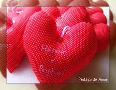 ❤❤Lembranças❤❤ (Pedaço de Amor) Tags: coração casamento sachet lavanda lembrancinhas