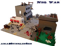 Neo War Contest Entry (~Amadgunslinger~) Tags: world 2 black modern army weird marine war call lego fig zombie military duty nazi wwii contest apocalypse battle mini americans network neo minifig minifigs custom entry ops warfare brickarms brickforge apocalego