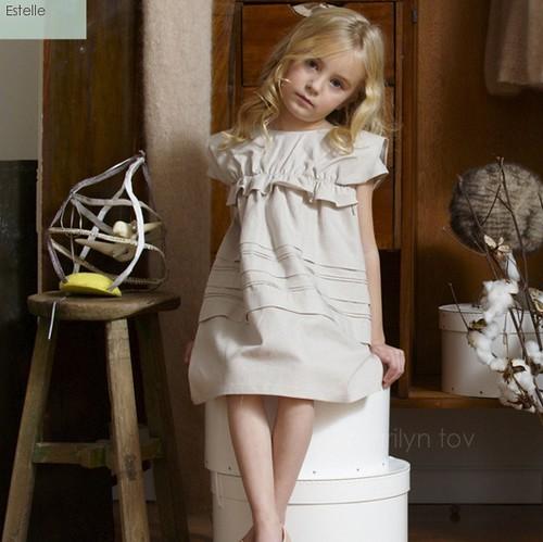 Marilyn Tov, conjuntos de ropa para niñas, avance temporada primavera.