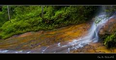 CATERACT FALLS Panorama1 (edwinemmerick) Tags: longexposure panorama fall 20d water rock canon eos waterfall australia falls nsw eos20d lawson cateract cateractfalls