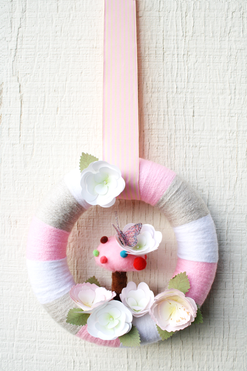 *Soft Spring* Wreath