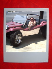 Girlfriend and Manx Dune Buggy