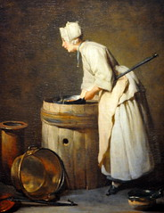 Jean-Simeon Chardin - The Scullery Maid at Corcoran Art Gallery Washington DC (mbell1975) Tags: usa art dutch museum painting golden us dc washington gallery paintings grand musee age masters maid corcoran the chardin scullery jeansimeon