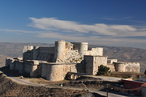The finest crusader castle [Crac de Chevalier, Syria]