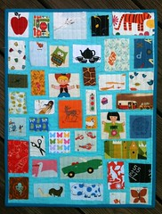 I-Spy Ticker Tape Quilt for QLD Flood Appeal Auction (katie@swimbikequilt) Tags: aqua quilt mendocino ispy michaelmiller tickertape farfaraway dollquilt heatherross lizzyhouse lightningbugsandothermysteries americanjane jackieshapiro lbom annkelle castlepeeps queenslandfloodappealsauction