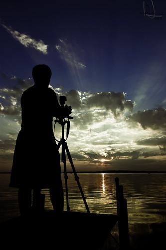 A photographer...