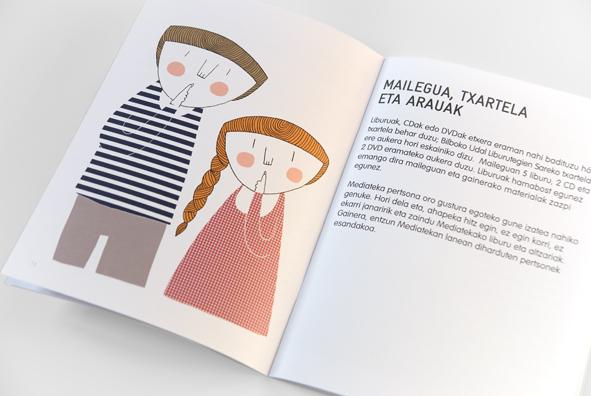 Ilustraciones mediateka AlhóndigaBilbao